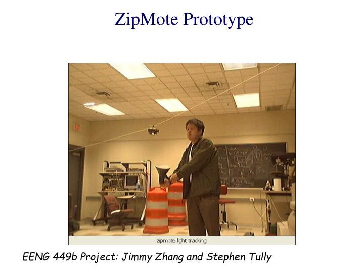 ZipMote Prototype