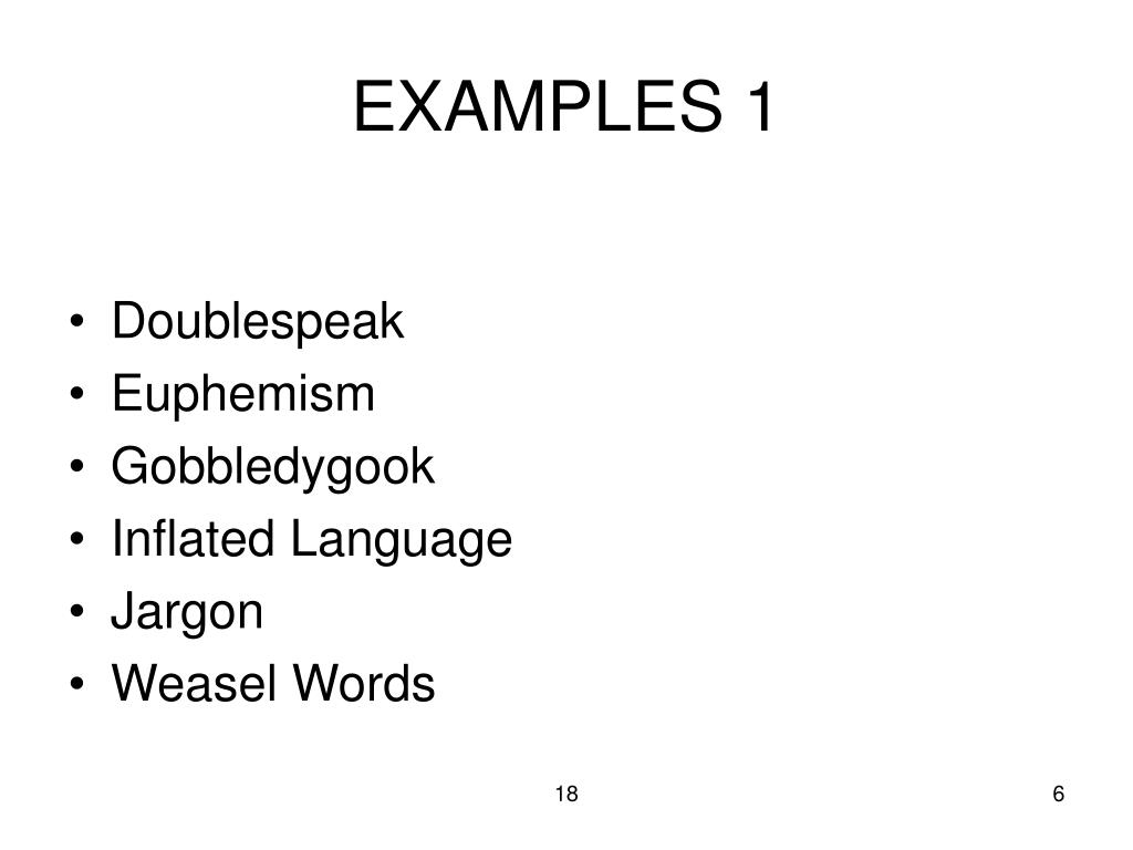 EXAMPLES 1