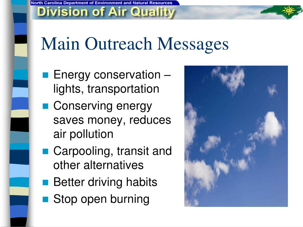 Main Outreach Messages