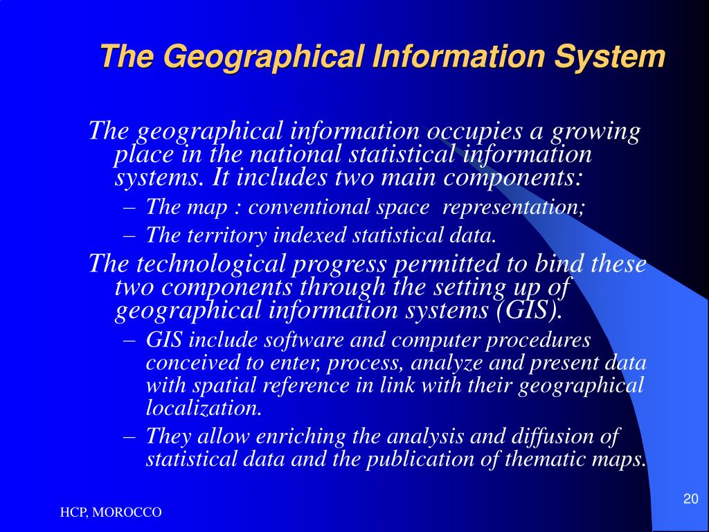 The Geographical Information System