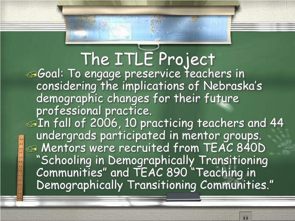 The ITLE Project