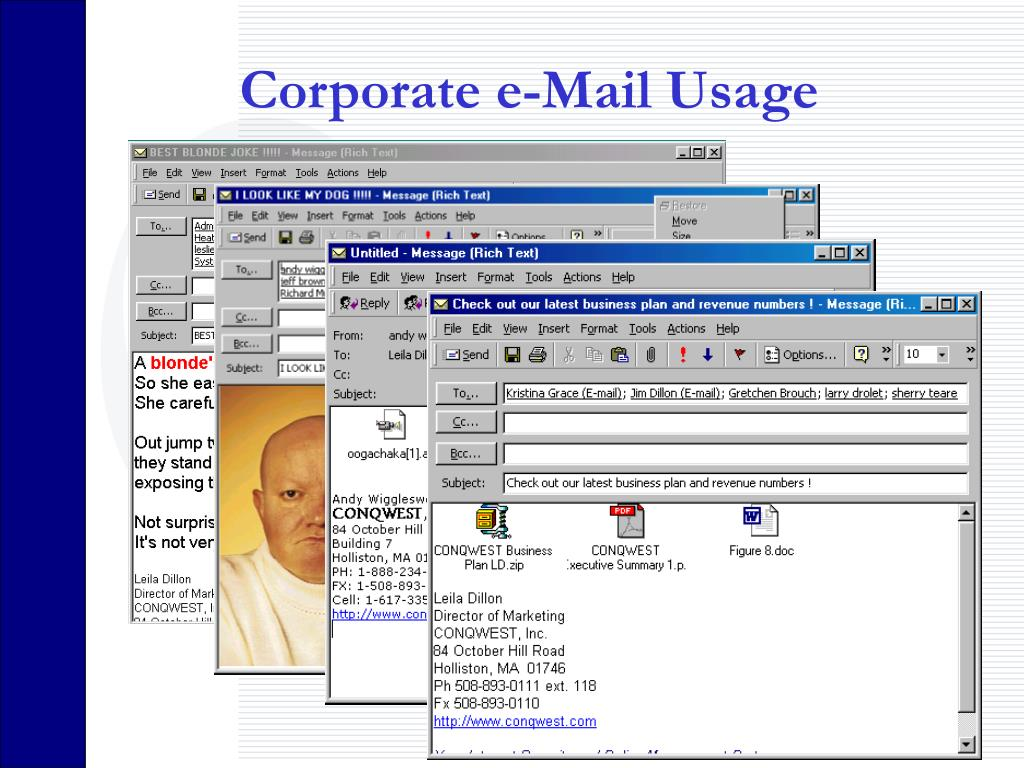 Corporate e-Mail Usage