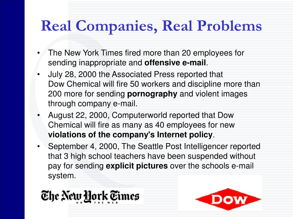 Real Companies, Real Problems