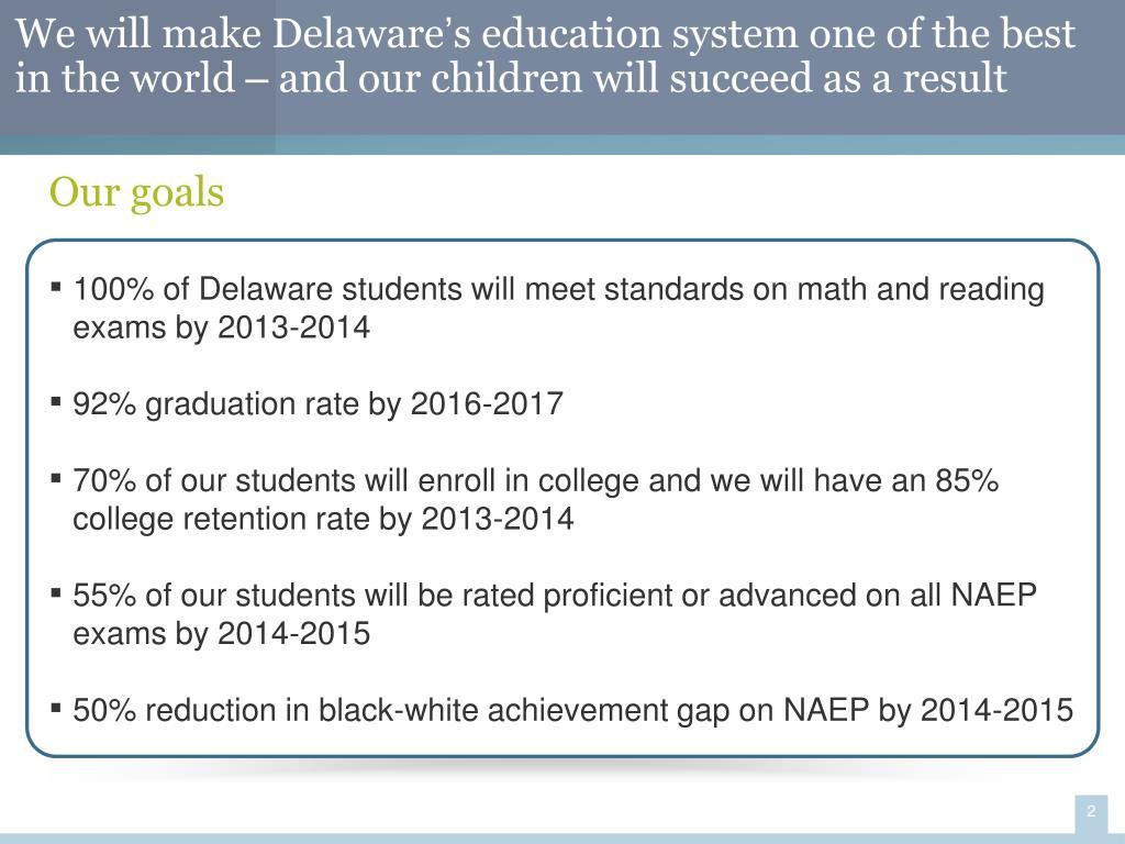 We will make Delaware
