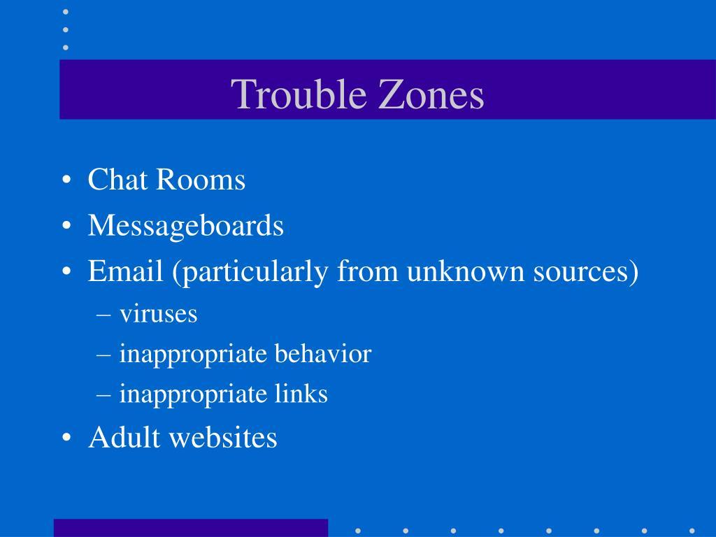 Trouble Zones