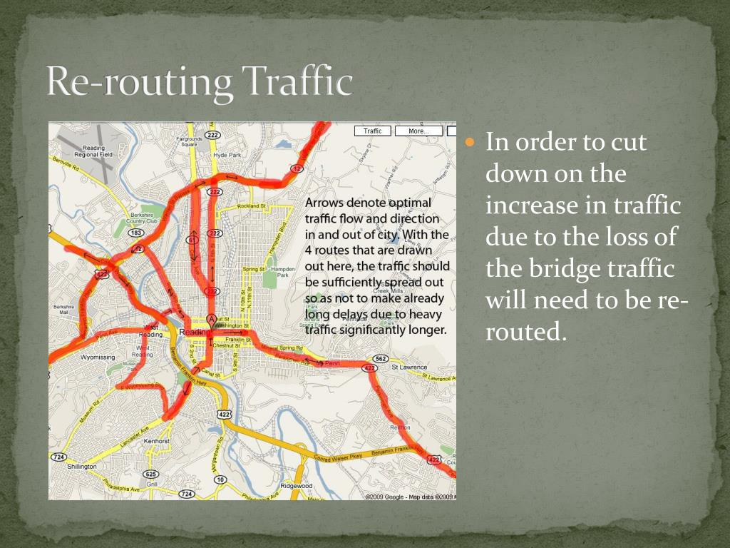 Re-routing Traffic