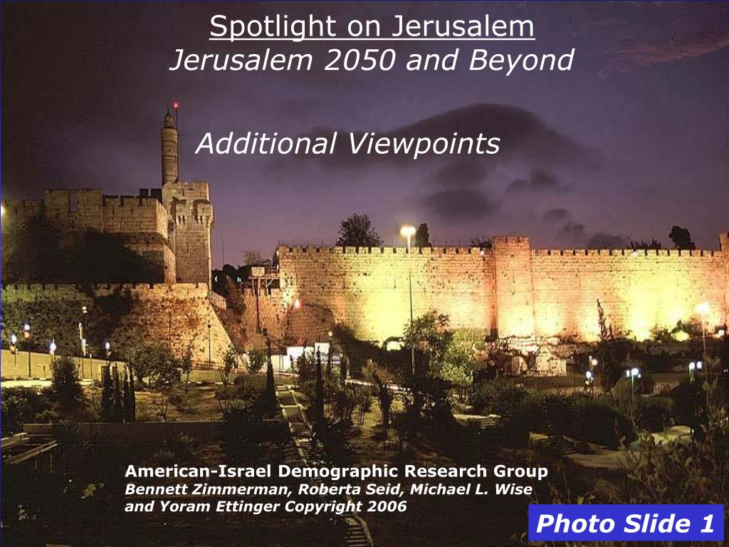 Spotlight on Jerusalem