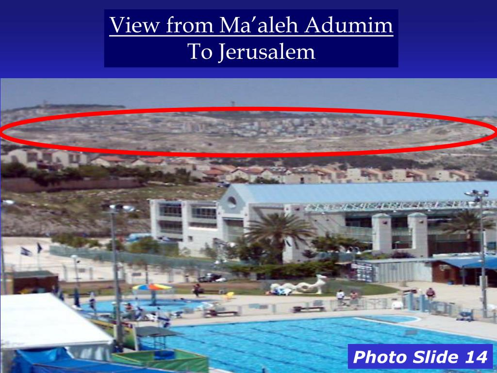 View from Ma'aleh Adumim