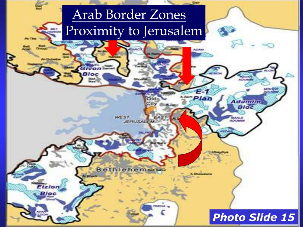 Arab Border Zones