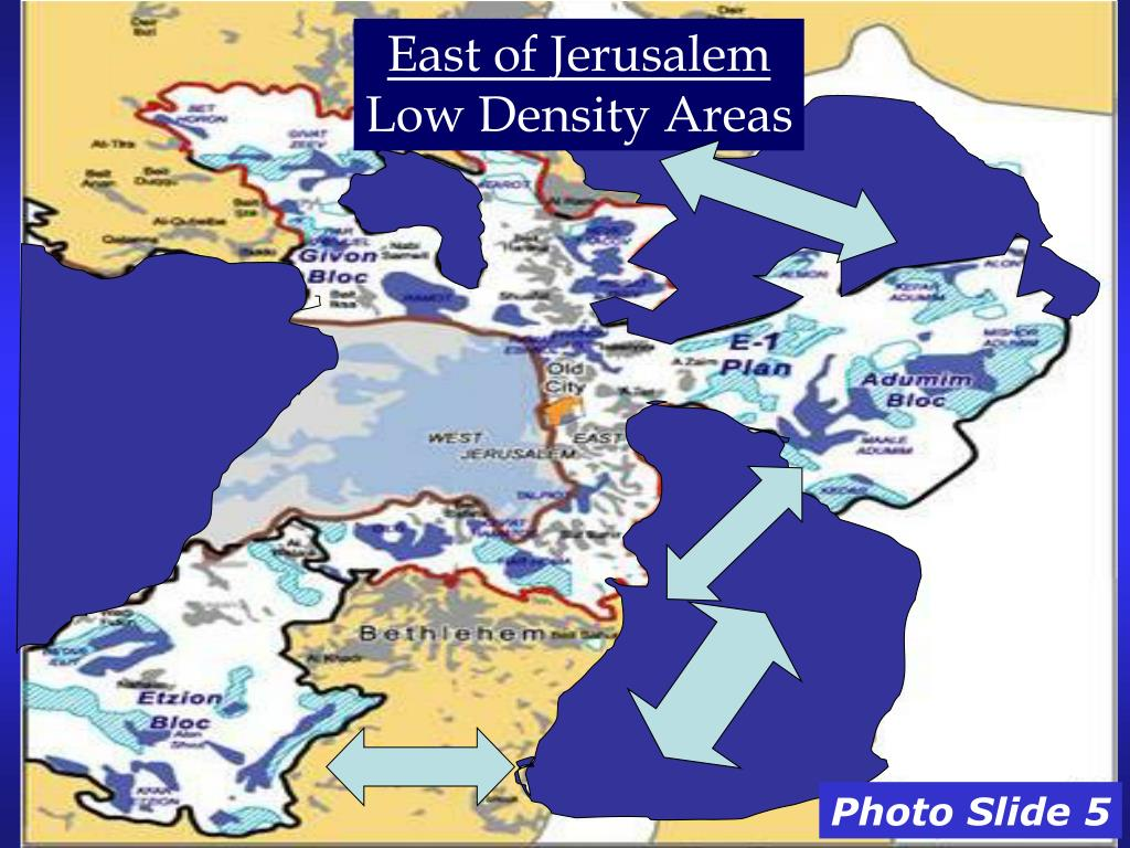 East of Jerusalem