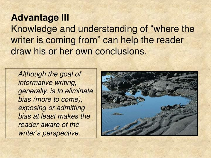 Advantage III