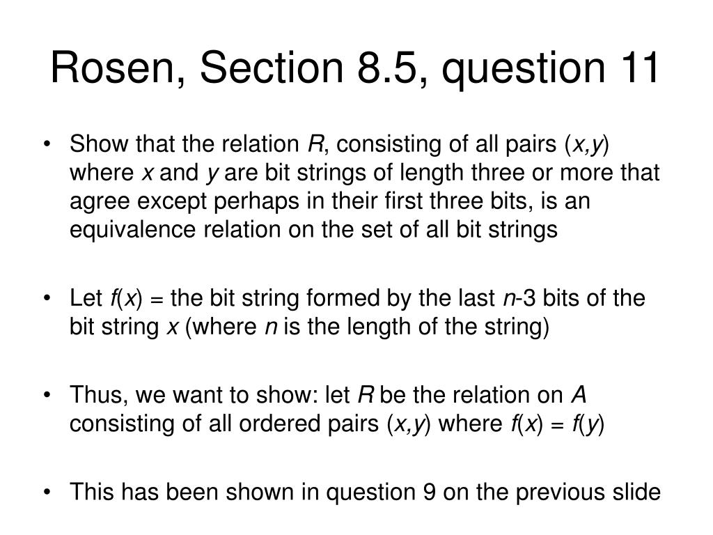 Rosen, Section 8.5, question 11