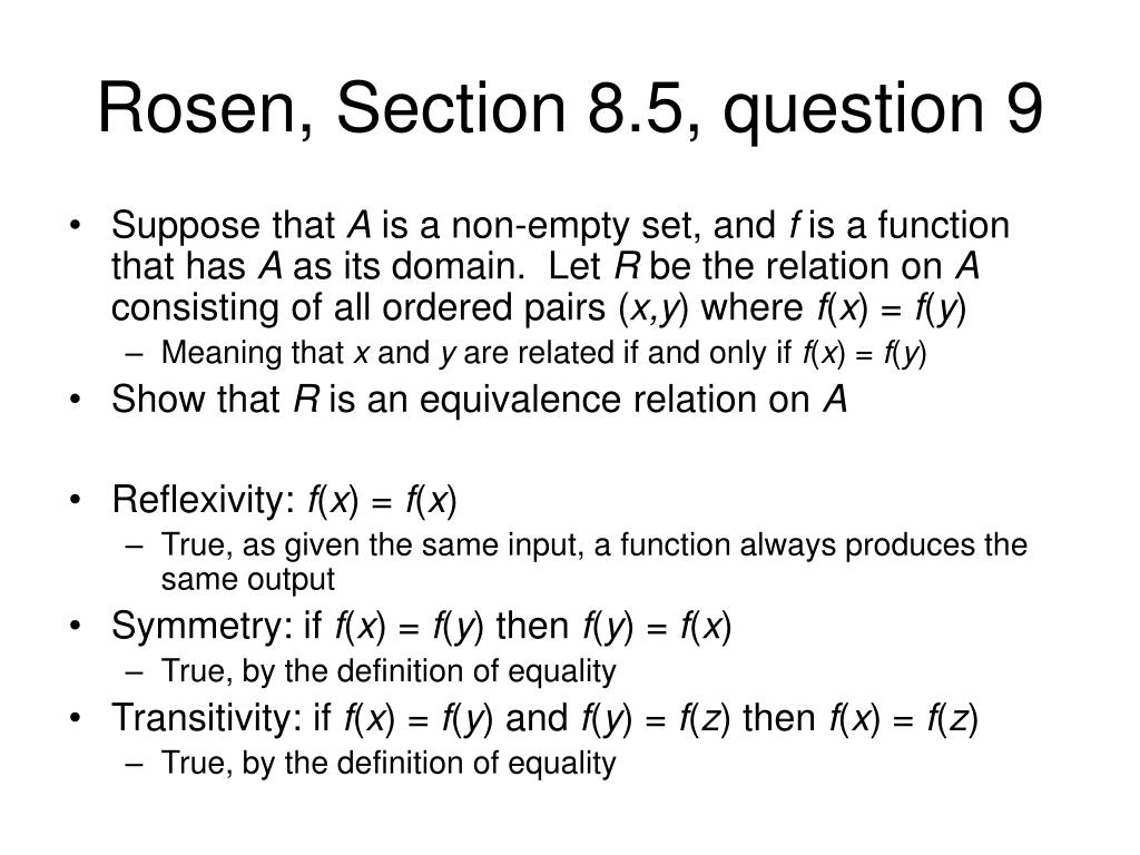 Rosen, Section 8.5, question 9