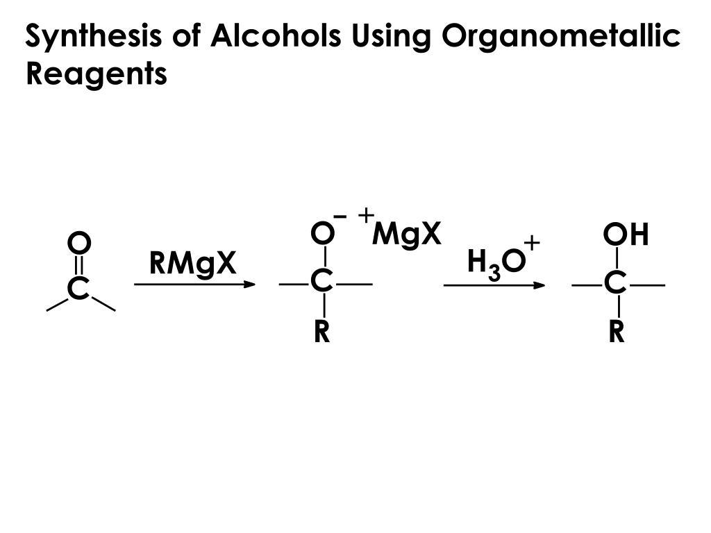 Synthesis of Alcohols Using Organometallic Reagents