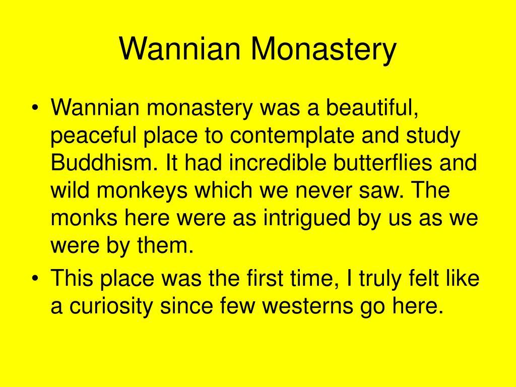 Wannian Monastery