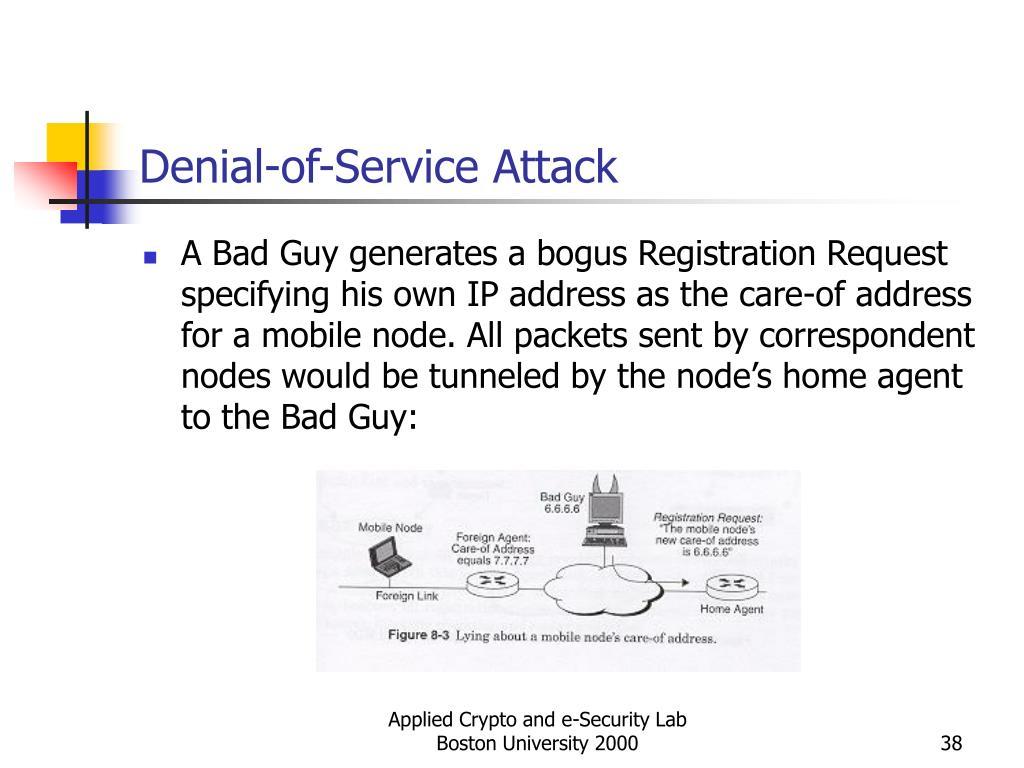 Denial-of-Service Attack