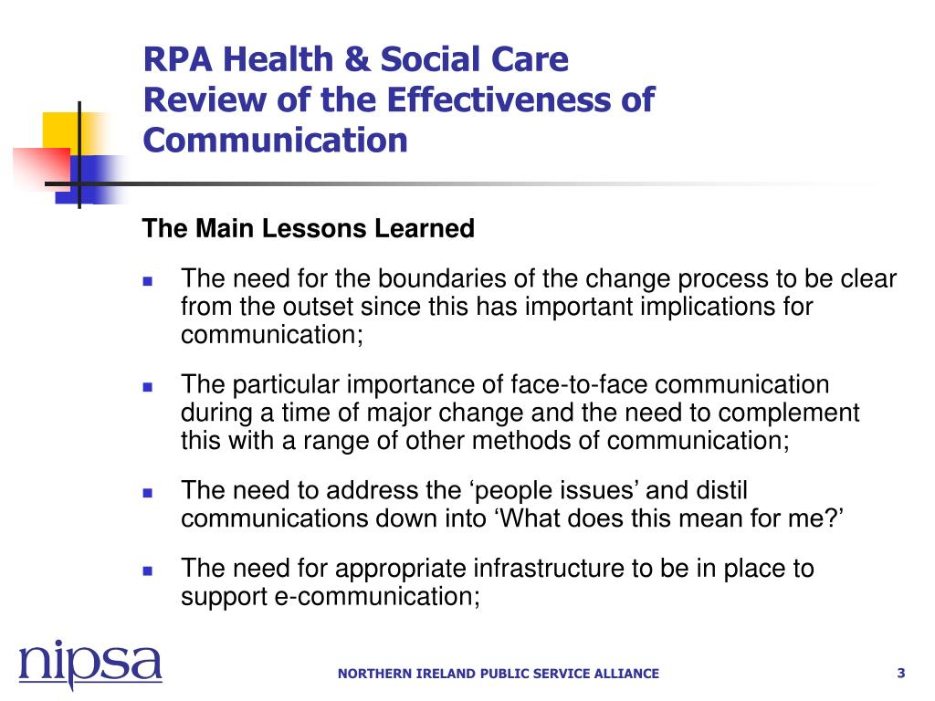RPA Health & Social Care