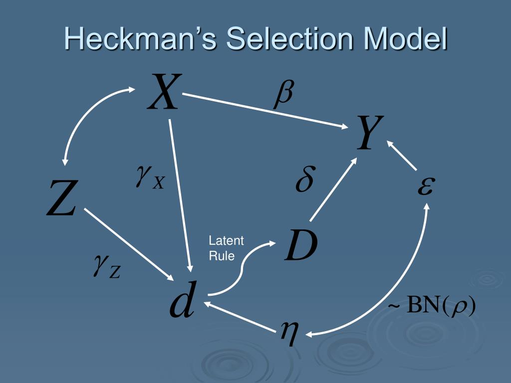 Heckman's Selection Model