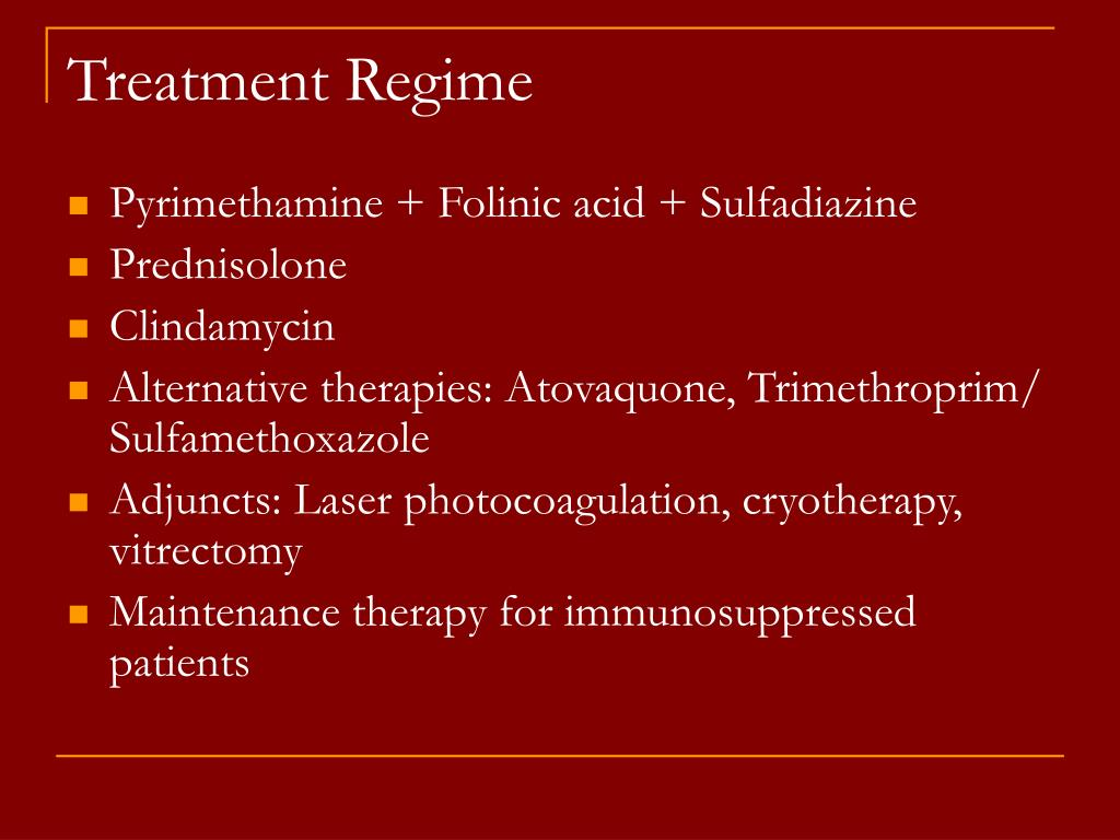 Treatment Regime