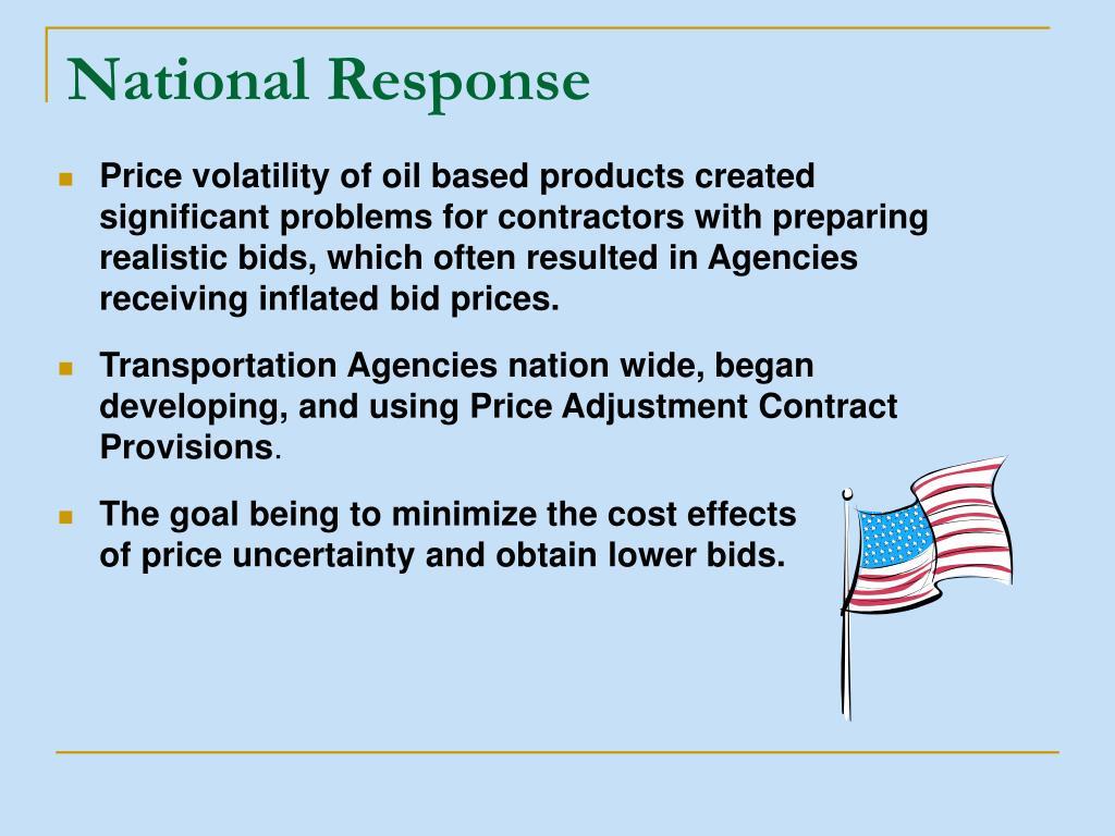 National Response