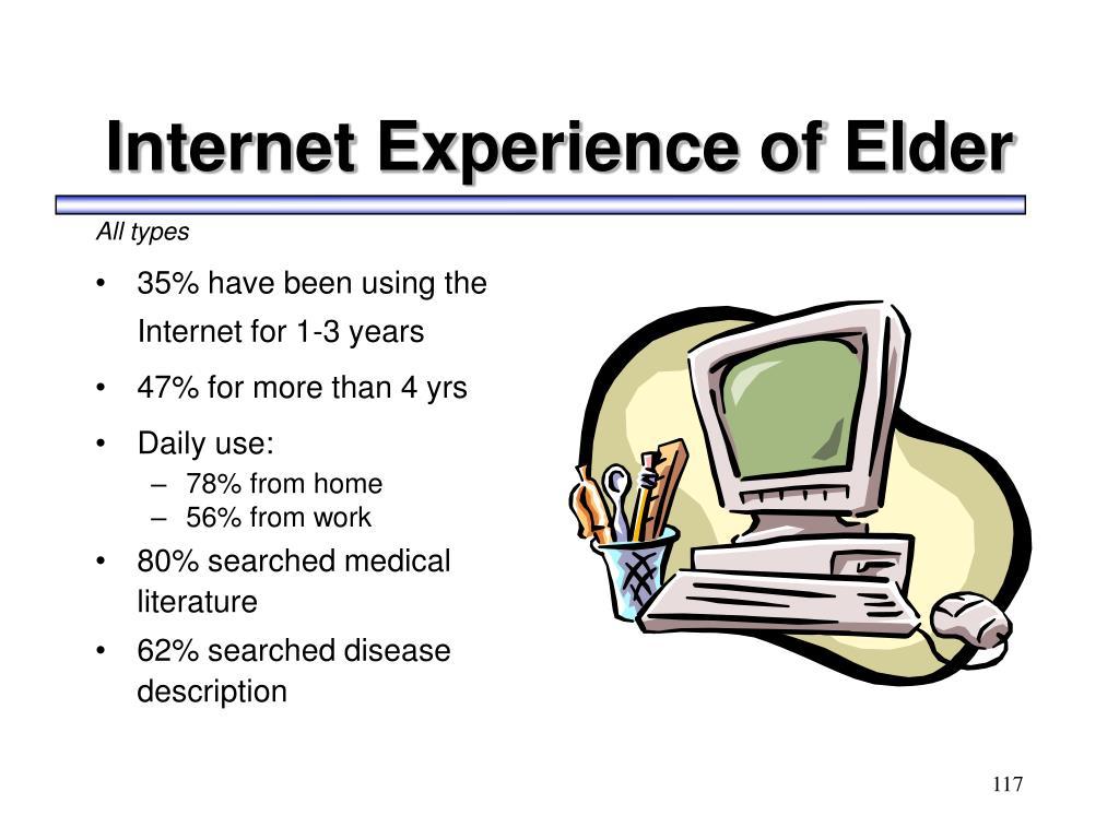Internet Experience of Elder
