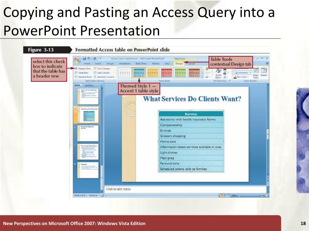 Integration Tutorial 3 Integrating Word, Excel, Access, and PowerPoint ...
