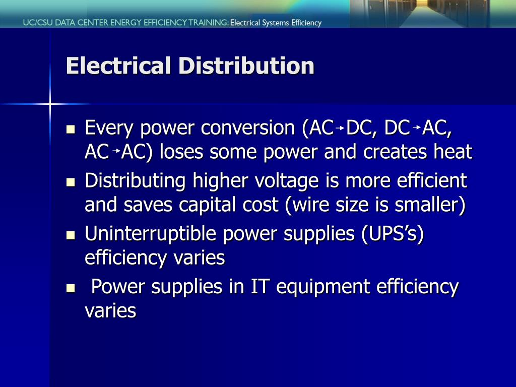 Electrical Distribution