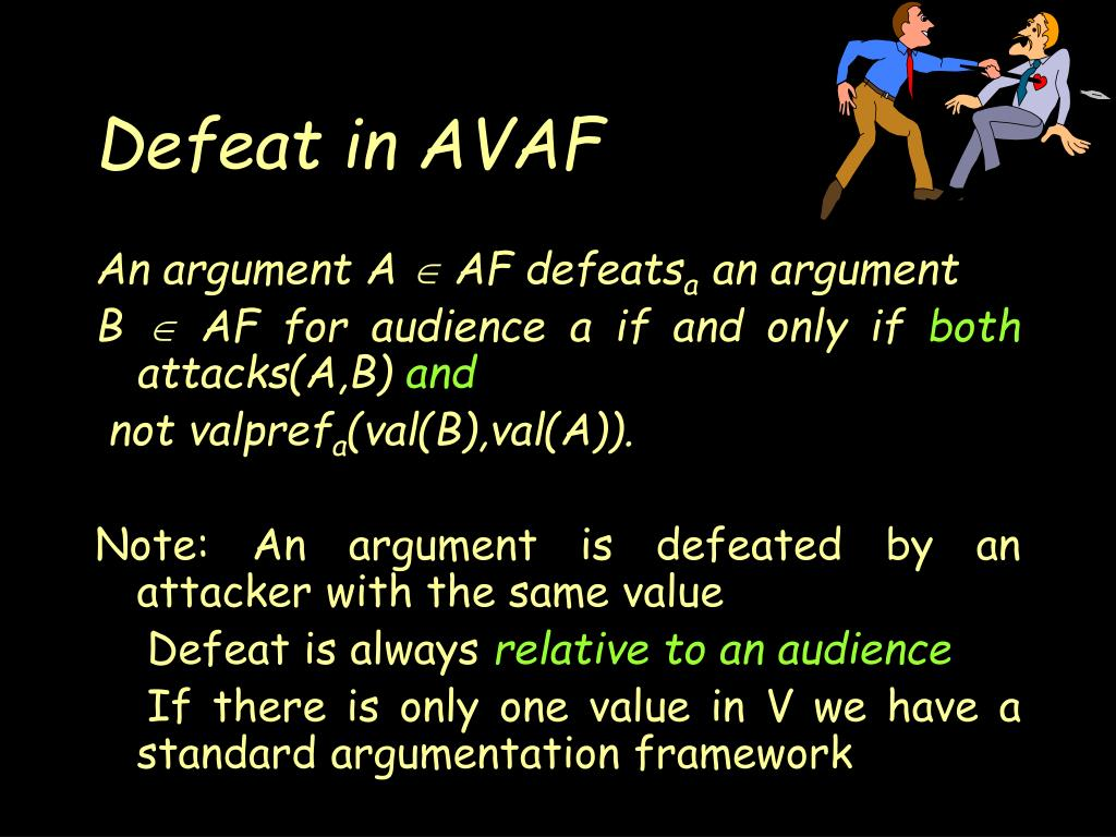 Defeat in AVAF