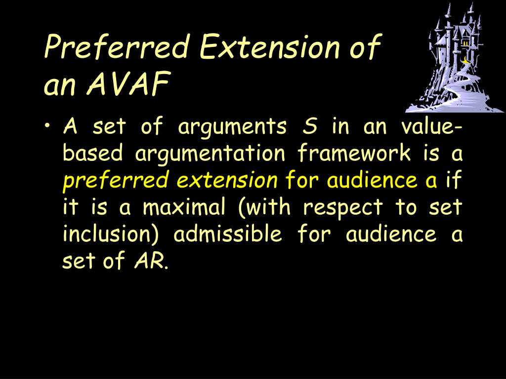 Preferred Extension of