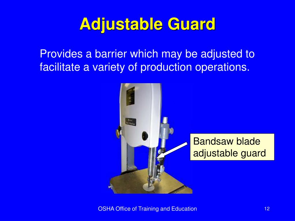 Adjustable Guard