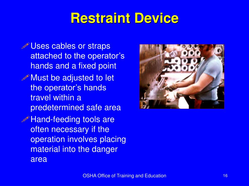 Restraint Device