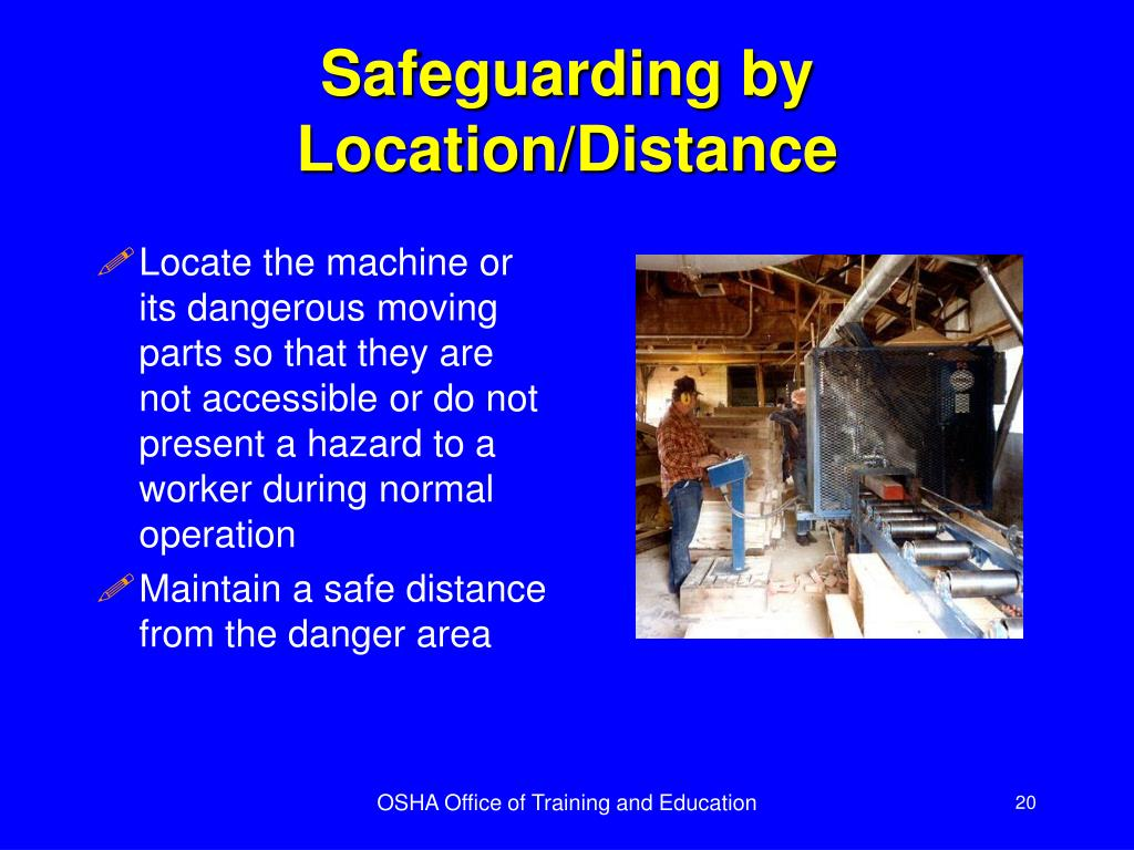 Safeguarding by Location/Distance