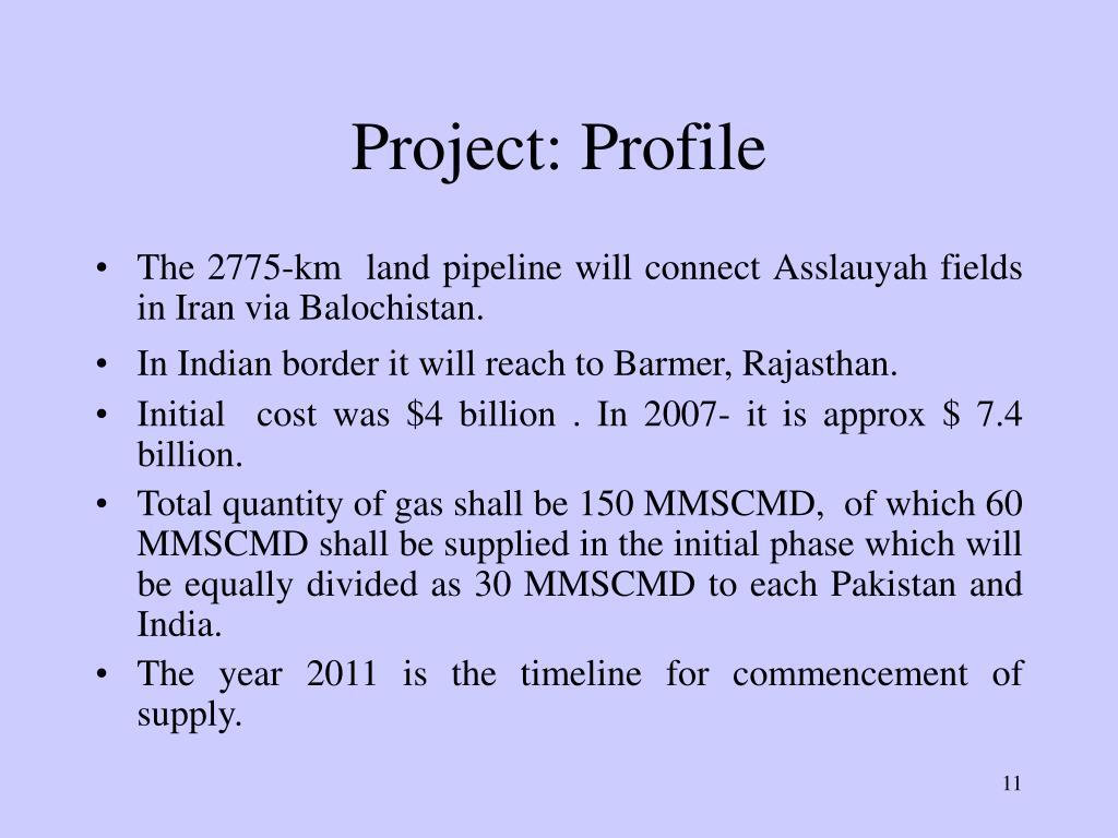 Project: Profile