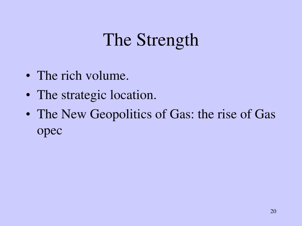 The Strength