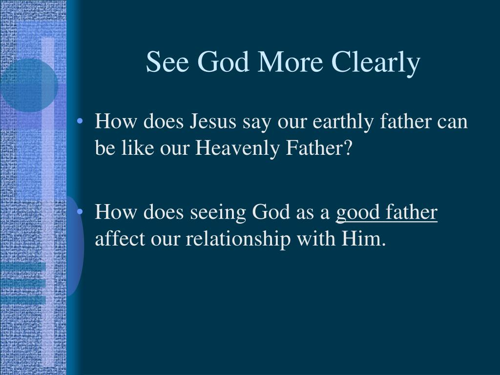See God More Clearly