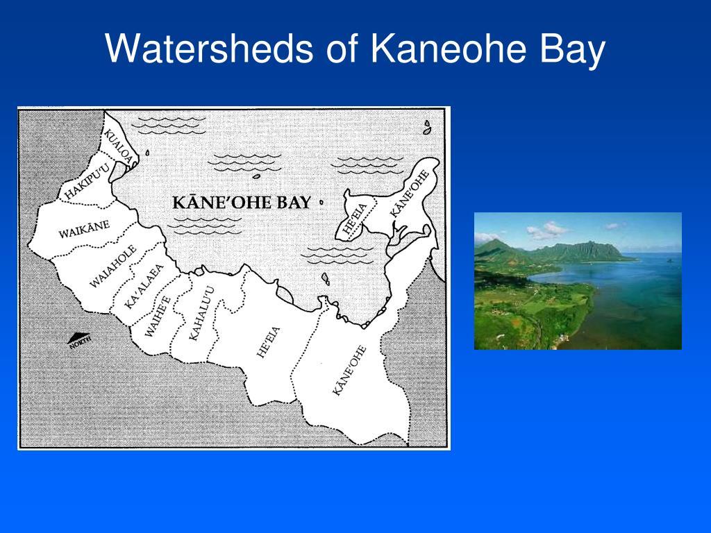 Watersheds of Kaneohe Bay