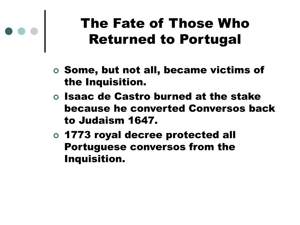 The Fate of Those Who Returned to Portugal