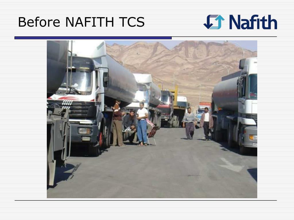 Before NAFITH TCS