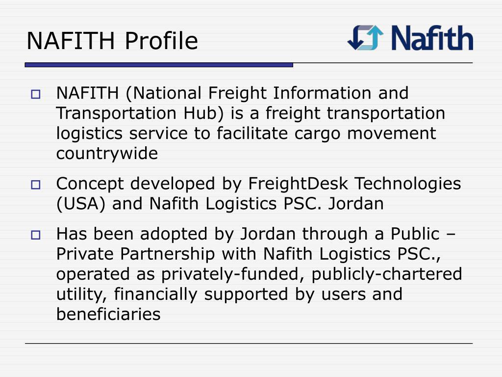 NAFITH Profile