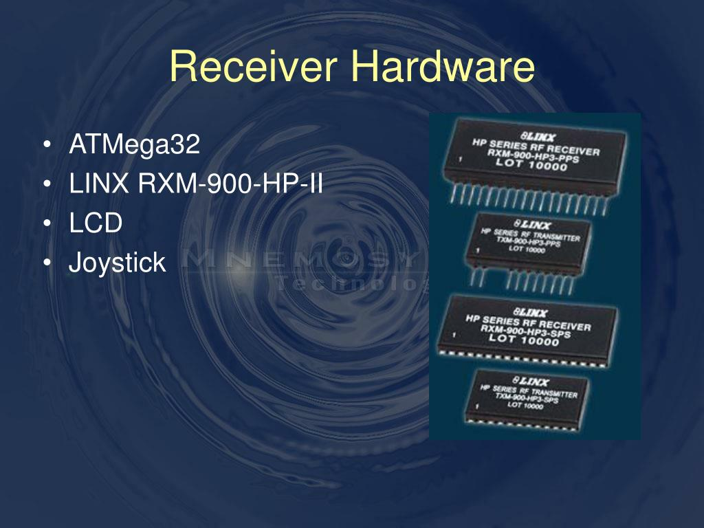 Receiver Hardware