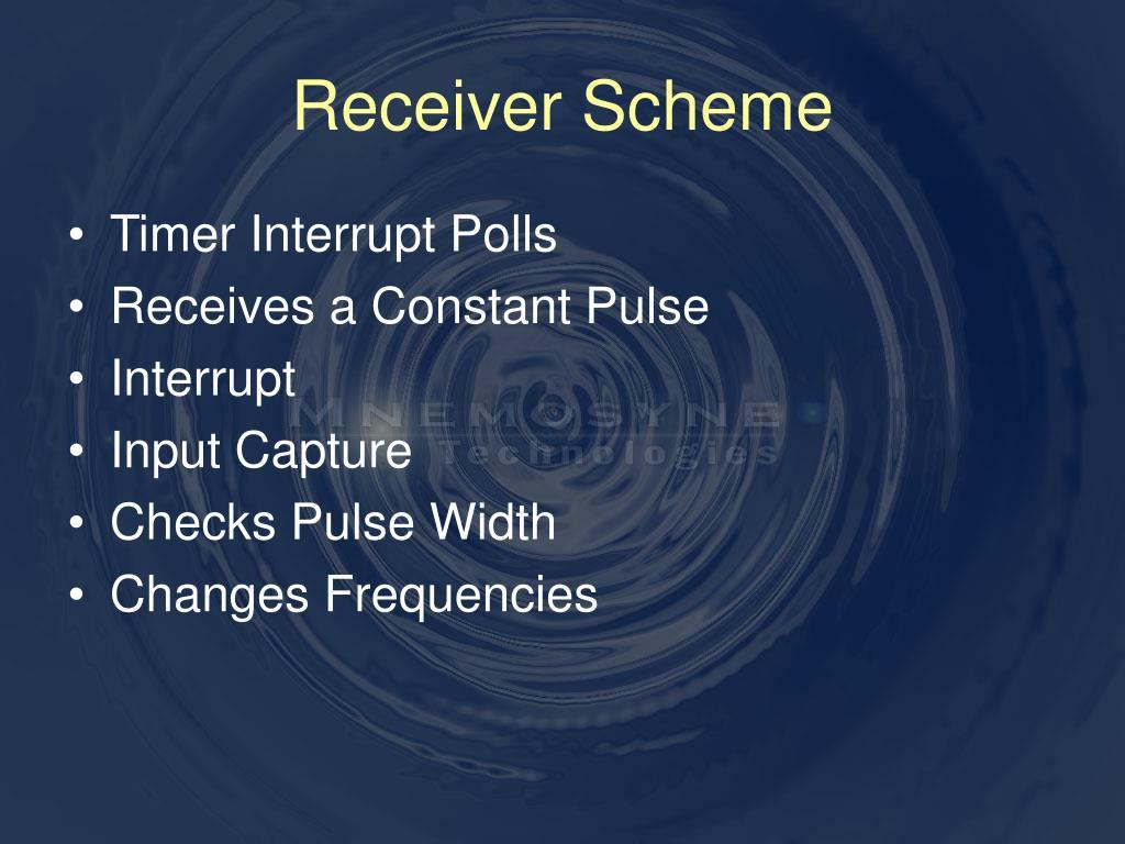 Receiver Scheme