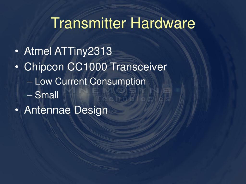 Transmitter Hardware