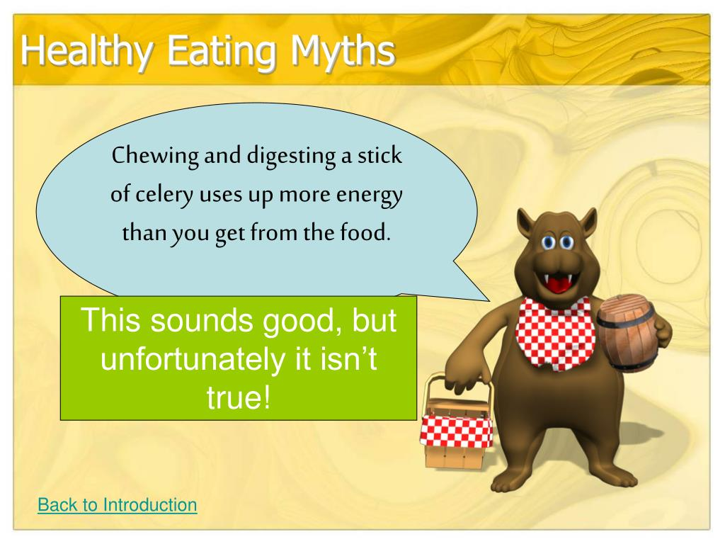 Healthy Eating Myths