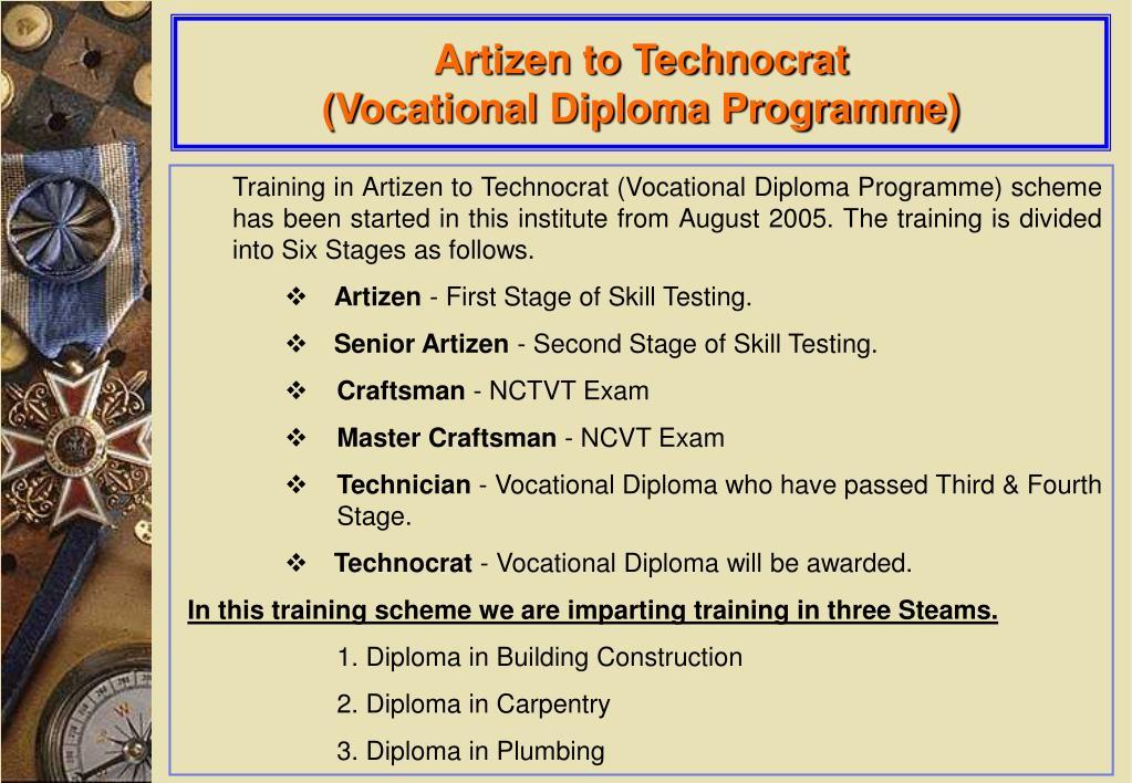 Artizen to Technocrat
