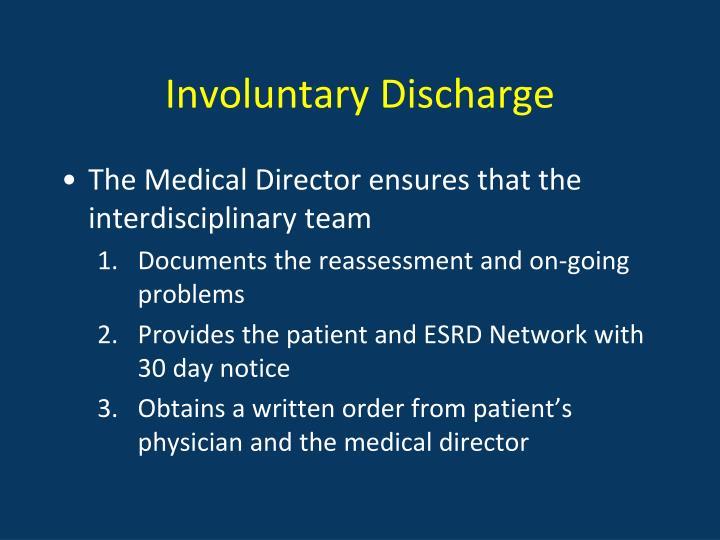 Involuntary Discharge