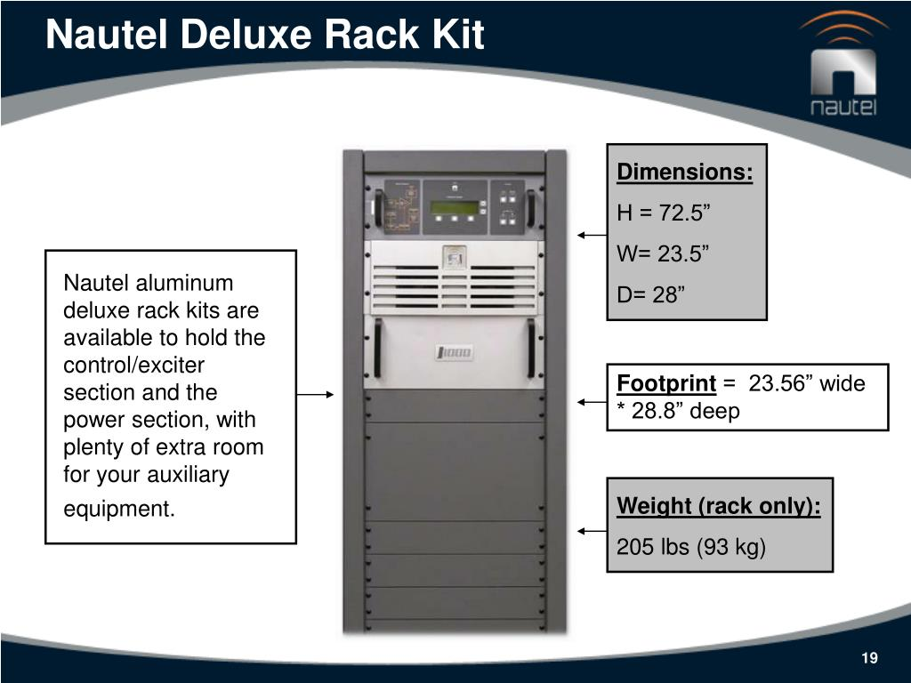 Nautel Deluxe Rack Kit