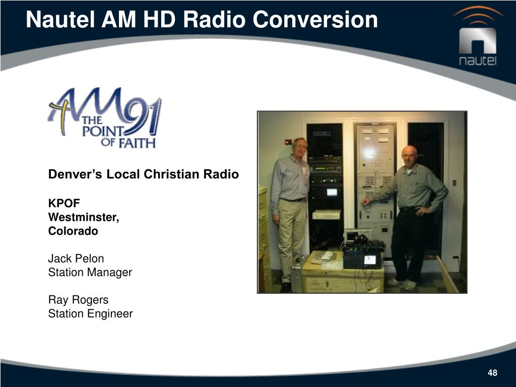 Nautel AM HD Radio Conversion