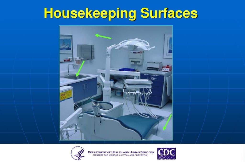 Housekeeping Surfaces