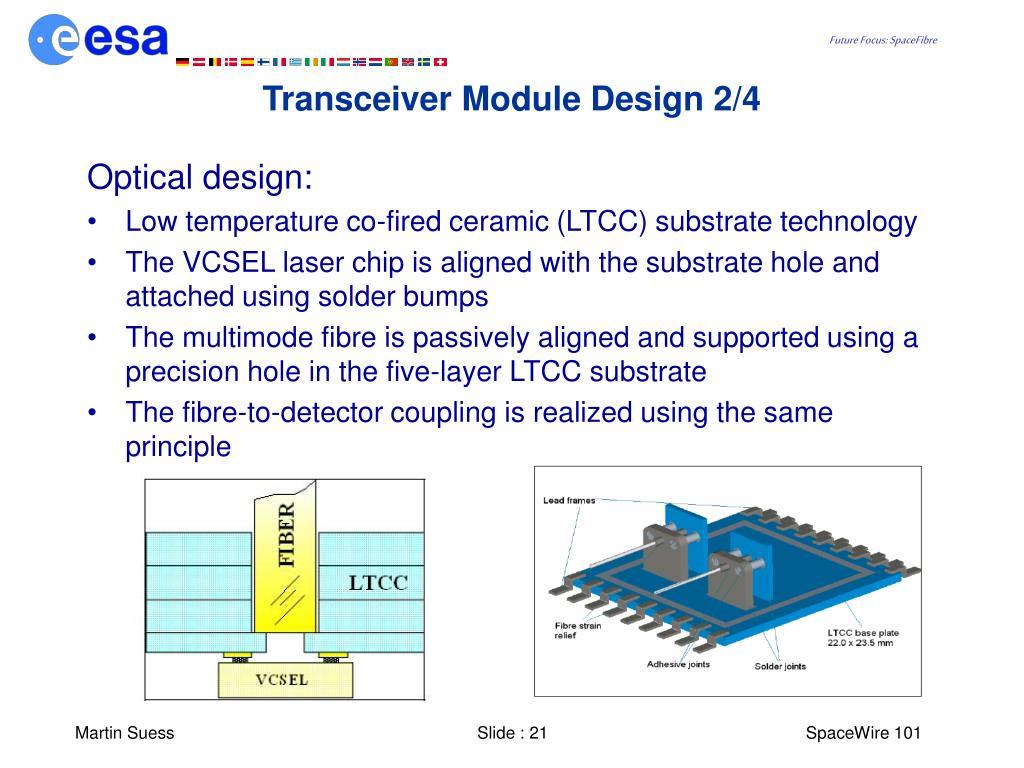 Transceiver Module Design 2/4