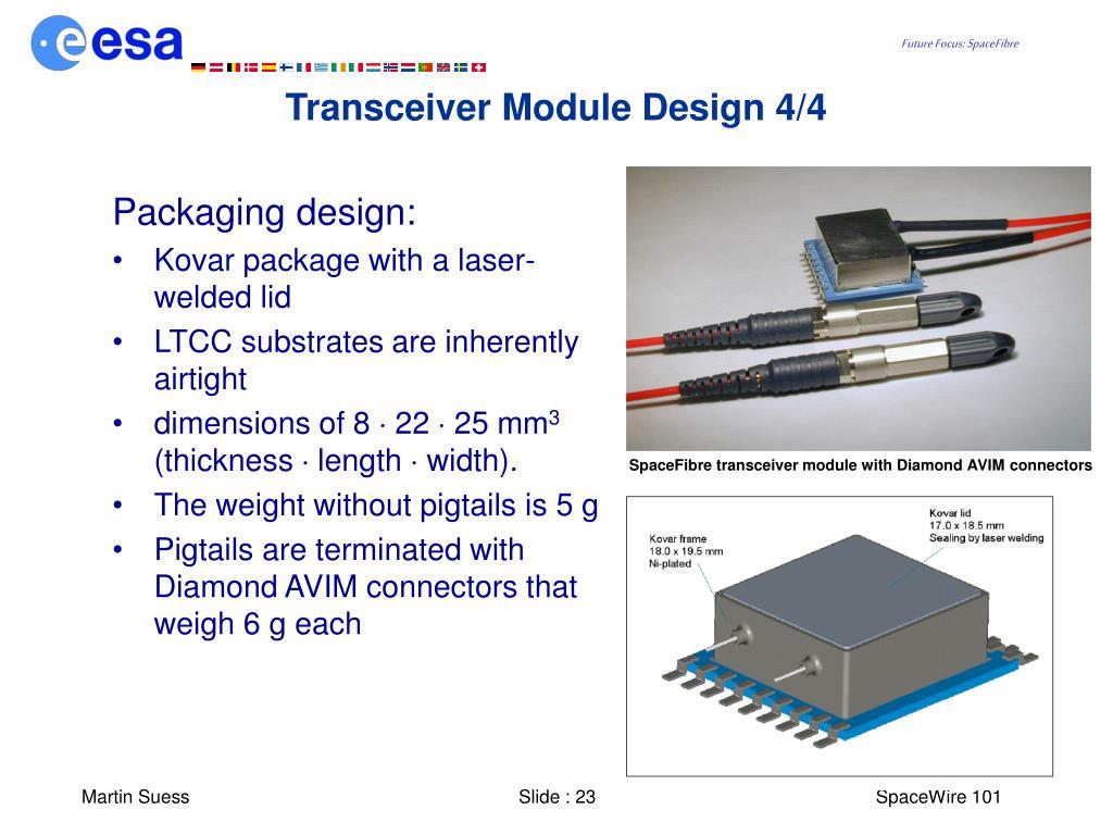 Transceiver Module Design 4/4